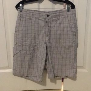 Lululemon men's grey pattern shorts sz 34 57657